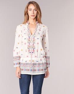 Vêtements Femme Tuniques Derhy DETENTE Blanc / rose