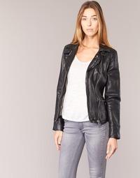 Vêtements Femme Vestes en cuir / synthétiques Oakwood 62065 Noir