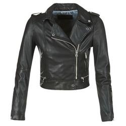 Vêtements Femme Vestes en cuir / synthétiques Oakwood 62326 Noir