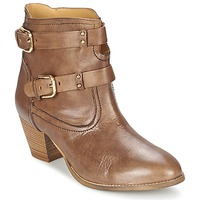 Chaussures Femme Bottines Casual Attitude SANOU Marron