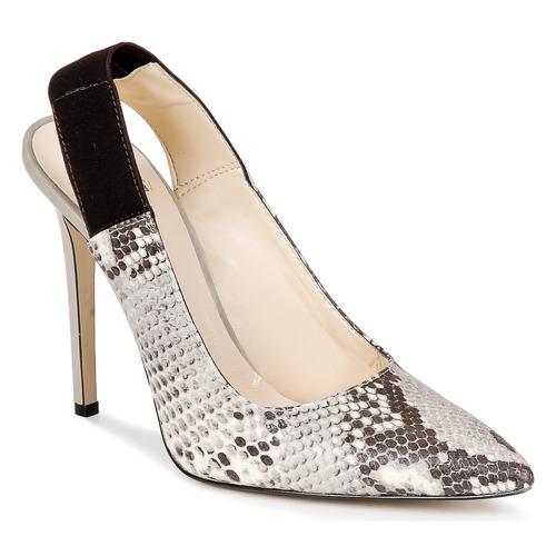 Chaussures Femme Escarpins Bata TALL Gris serpent