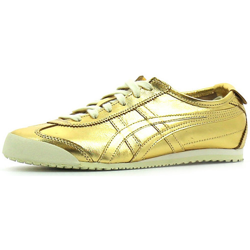 Baskets mode Onitsuka Tiger Mexico 66 Gold / Gold 350x350