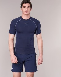 Vêtements Homme T-shirts manches courtes Under Armour Armour HG SS Marine
