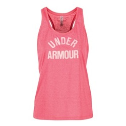 Vêtements Femme Débardeurs / T-shirts sans manche Under Armour THREADBORNET TWIST GRAPHIC Rose