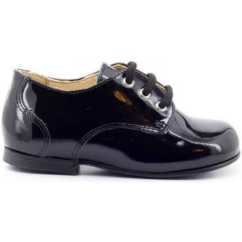 Chaussure-Ville Boni Classic Shoes Boni Mini-Philippe - chaussures bébé garçon Vernis Noir 350x350