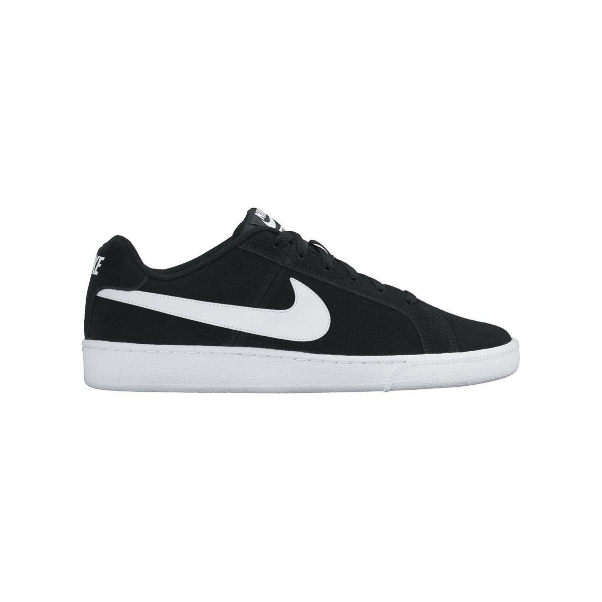 Nike COURT ROYALE SUEDE NEGRO