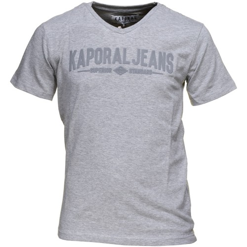 T-shirts & Polos Kaporal Gobo Grey Melanged Gris 350x350