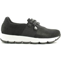 Chaussures Femme Baskets basses Grace Shoes 38 Slip-on Femmes Noir