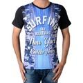 Celebry Tees Tee Shirt  Surfing Noir