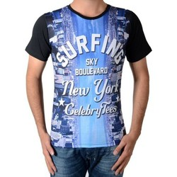 Vêtements Homme T-shirts & Polos Celebry Tees Surfing Noir