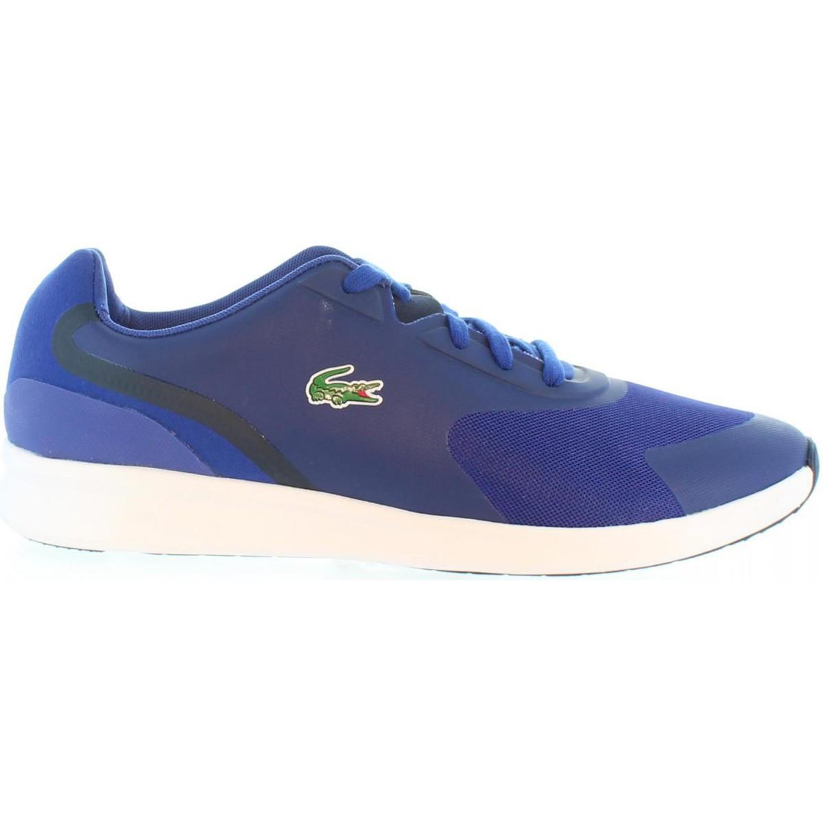 Basket Lacoste 32SPM0025 LTR01 Azul
