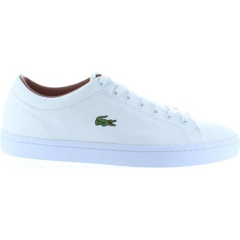 Chaussures Homme Baskets mode Lacoste 30SPM0034 STRAIGHTSET Blanco