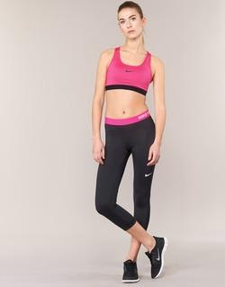 Vêtements Femme Leggings Nike NP CL CAPRI Noir / Rose
