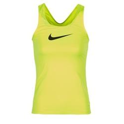 Vêtements Femme Débardeurs / T-shirts sans manche Nike NIKE PRO COOL TANK Jaune
