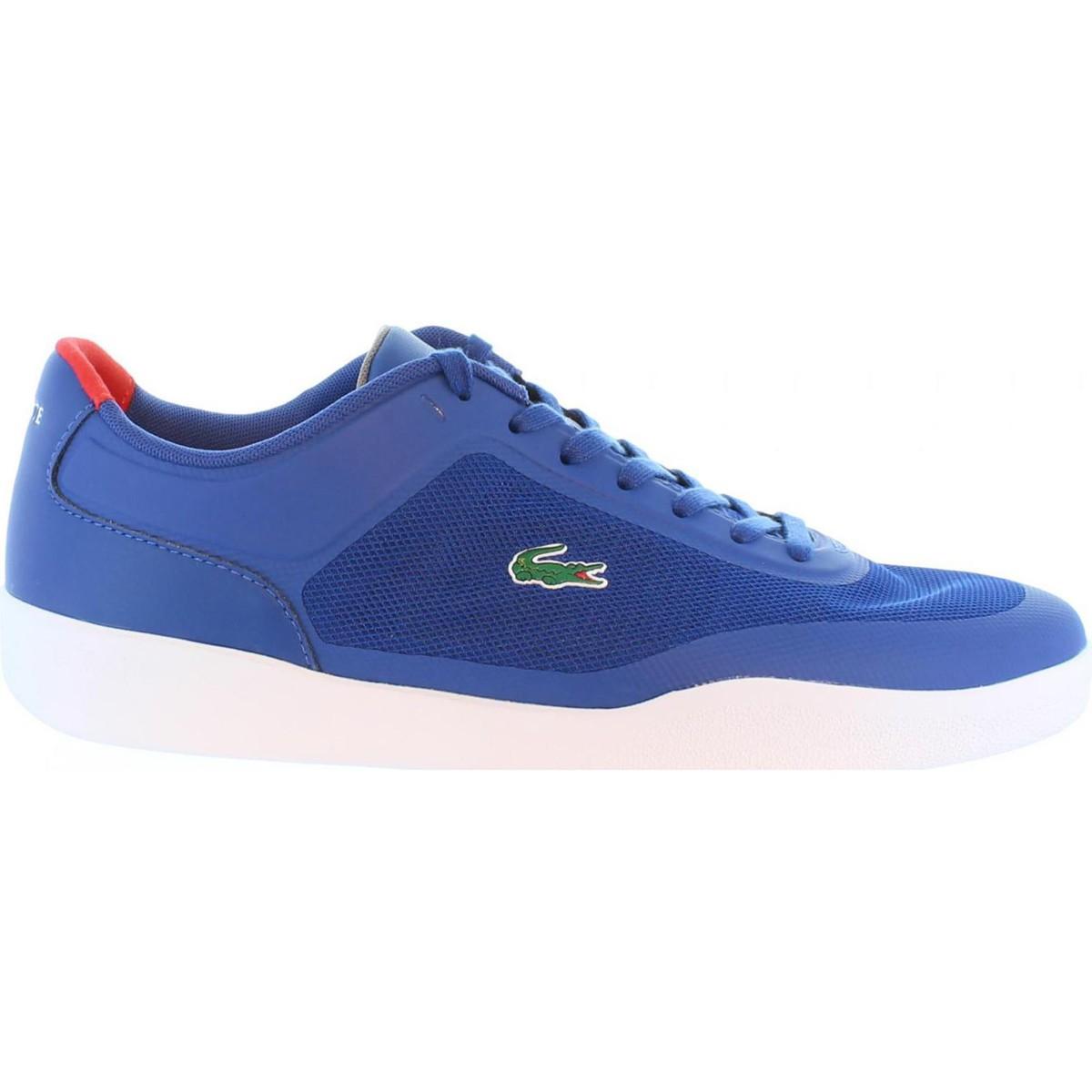 Basket Lacoste 32SPM0046 TRAMLINE Azul