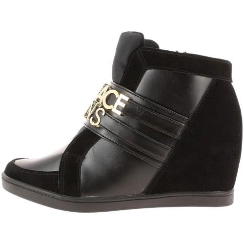 versace jeans e0vobsa3 noir chaussures baskets basses femme 197 50. Black Bedroom Furniture Sets. Home Design Ideas