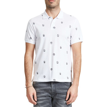 Vêtements Homme Polos manches courtes Jack & Jones Polo Jack And Jones Trooper Blanc Homme Blanc