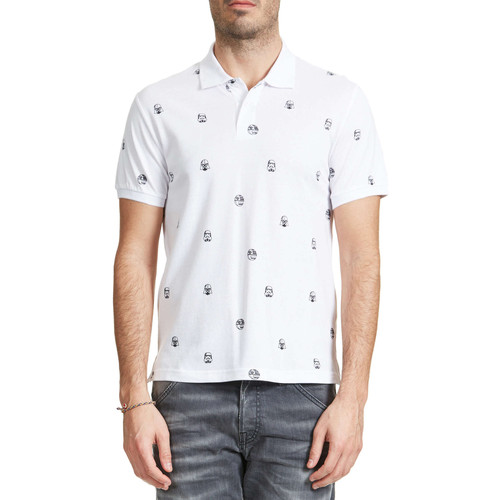 T-shirts & Polos Jack & Jones Polo Jack And Jones Trooper Blanc Homme Blanc 350x350