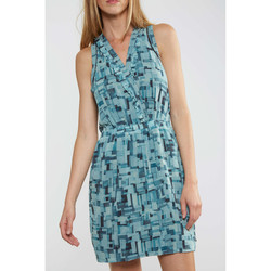 Robes courtes Maison Scotch Robe  Sexy Summer Bleu Femme
