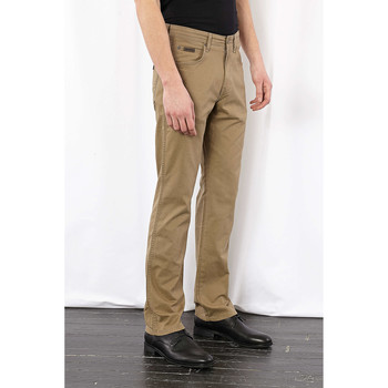 Vêtements Femme Jeans droit Wrangler Pantalon Regular  Arizona Beige Homme Beige