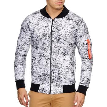Vêtements Homme Vestes Violento Veste tendance blanc pour homme Veste 795 blanc mélangé Blanc
