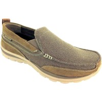 Chaussures Homme Mocassins Skechers Relaxed Fit Milford marron