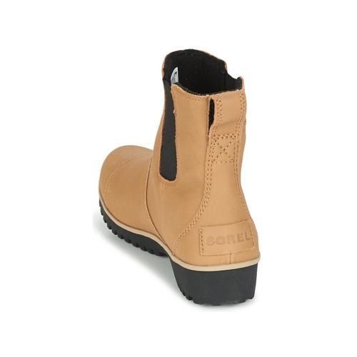 Beige Boots Sorel Femme Meadow Chelsea yvfY7b6g