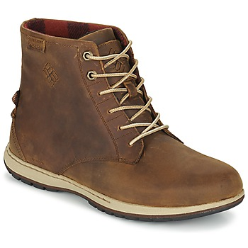 Chaussures Homme Boots Columbia DAVENPORT SIX WATERPROOF LEATHER Elk, Buro