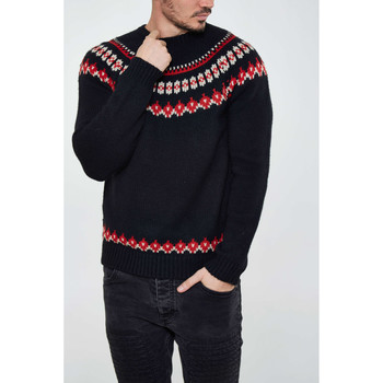 Vêtements Homme Pulls Native Youth Pull  Nykn69 Marine Homme Marine
