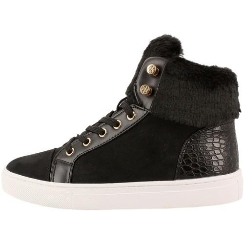 Chaussures Femme Baskets basses Guess fljria4 noir