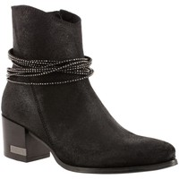 Chaussures Femme Bottines Guess flpia3 noir