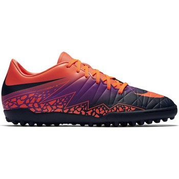 Chaussures Homme Football Nike Hypervenom Phelon II TF Orange-Noir-Violet