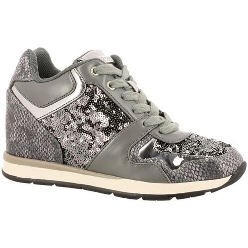 Chaussures Femme Baskets basses Guess fllcy3 gris