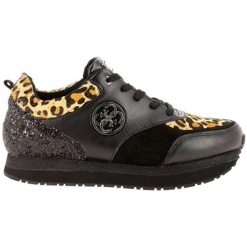 Chaussures Femme Baskets basses Guess flrim4 noir
