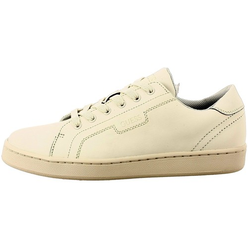 Chaussures Homme Baskets basses Guess fmall4 beige
