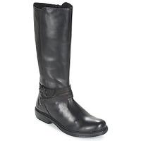 Chaussures Femme Boots Kickers MOTCAST Noir