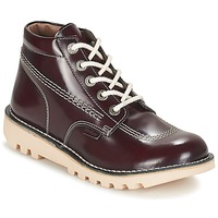 Chaussures Femme Boots Kickers NEORALLYE Bordeaux