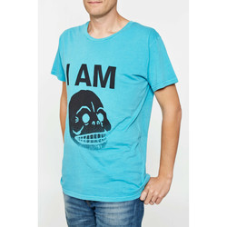 Vêtements Homme T-shirts manches courtes Cheap Monday Tee Shirt  Tor Turquoise Homme Turquoise