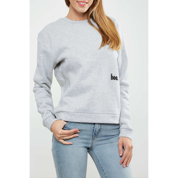 Vêtements Femme T-shirts manches longues Asap Paris Sweat Shirt  Cam W Gris Chine Femme Gris