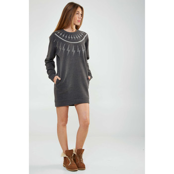 Vêtements Femme Robes Asap Paris Robe Pull  Felicite Anthracite Femme Anthracite