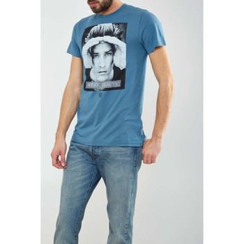 Vêtements Homme T-shirts manches courtes Boom Bap Tee Shirt  Lookout 2 Turquoise Homme Turquoise