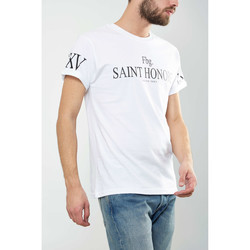 Vêtements Homme T-shirts manches courtes Seven Tees Tee Shirt  Honore Blanc Homme Blanc