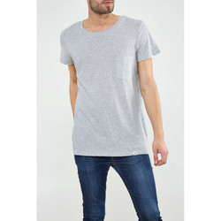 Vêtements Homme T-shirts manches courtes Cheap Monday Tee Shirt  Cap Pocket Gris Homme Gris
