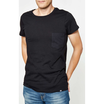 Vêtements Homme T-shirts manches courtes Cheap Monday Tee Shirt  Cap Pocket Noir Homme Noir