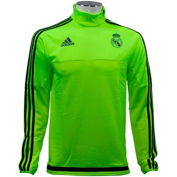 Vêtements Homme Pulls adidas Originals Performance REAL MADRID TRACK TOP Veste de Football Homme Jaune jaune