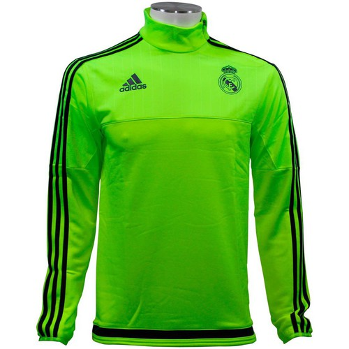 Pulls & Gilets adidas Performance REAL MADRID TRACK TOP Veste de Football Homme Jaune jaune 350x350