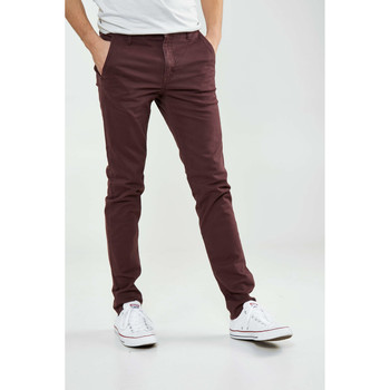 Vêtements Homme Pantalons Cheap Monday Pantalon Chino  Slack Bordeaux Homme Bordeaux