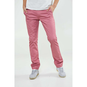 Vêtements Homme Pantalons Cheap Monday Pantalon Slim Chino Rose Homme Rose