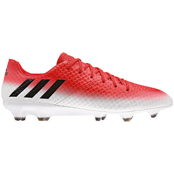 Chaussures Homme Football adidas Originals Messi 16.1 FG Rot