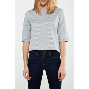 Vêtements Femme Tops / Blouses Highlight Cropped Top  Diane Gris Femme Gris
